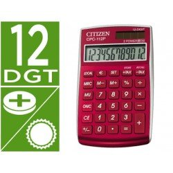 Calculadora Bolsillo Citizen CPC-112B 12 digitos