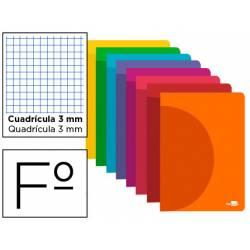 Libreta liderpapel 360 A4 48 hojas de 90gr/m2 cuadriculado 3mm (NO SE PUEDE ELEGIR COLOR)