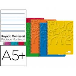 Bloc Liderpapel Cuarto Write Rayado Montessori 5 mm