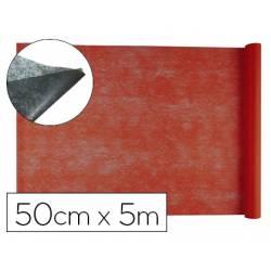Entretela Liderpapel 25g/m2 rollo de 5m color Rojo