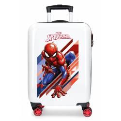 Maleta de cabina rígida Spiderman Geo 55x38x20cm ABS