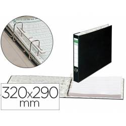 Carpeta papel continuo carton forrado Elba 320x290 mm Lomo de 80 mm
