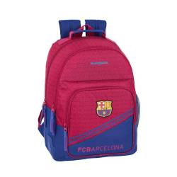 CARTERA ESCOLAR SAFTA F.C. BARCELONA CORPORATIVA MOCHILA 320X420X150 MM