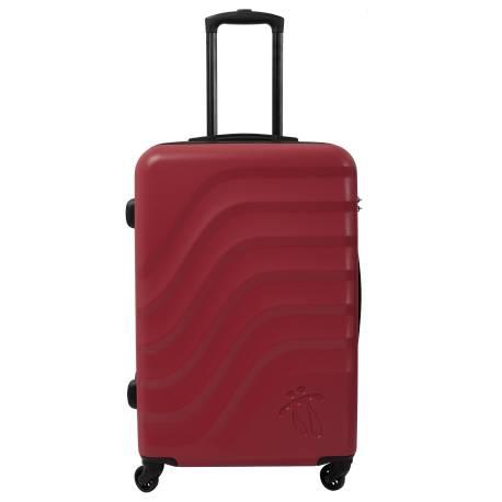 Maleta trolley mediana rojo/negro - Bazy Totto 68.5x45.5x26.00cm