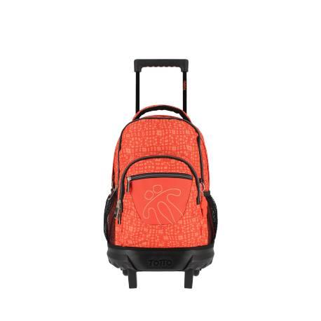 Mochila escolar con ruedas - Resma Totto 42x29.5x14.50cm