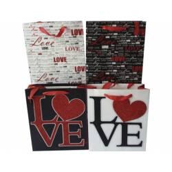 Bolsa para regalo Arguval Pequeña Love 4 diseños