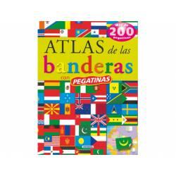 Atlas Susaeta De las banderas Con pegatinas