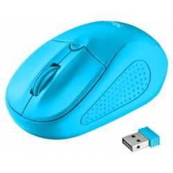 RATON TRUST PRIMO OPTICO 1600 DPI INALAMBRICO MICRO USB 2,4 GHZ COLOR AZUL