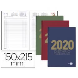DIETARIO LIDERPAPEL 15X21,5 CM 2020 CUARTO PAPEL 70 GR
