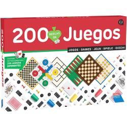 Juego de mesa 200 juegos reunidos Falomir Juegos