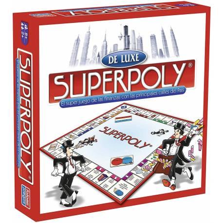 Juego de Mesa Superpoly de Luxe Euro Falomir Juegos