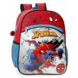 Mochila Preescolar Spiderman Red Adaptable (40422D1)