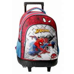 Mochila 2 ruedas Spiderman Red (4042921)