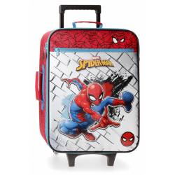 Maleta de cabina Spiderman Red 50x35x18cm Poliéster