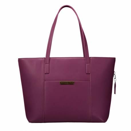 Bolso shopper mujer morado - Alaia Totto 25x 31x 14.5 cm