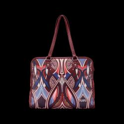 Bolso shopper mujer multicolor - Victoria Totto 33x 38.5x 13.5cm