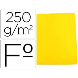 Subcarpeta Gio Folio 250 gr Cartulina amarillo