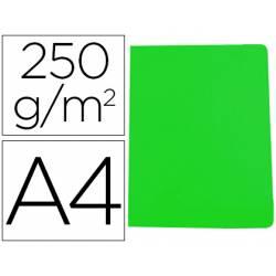 Subcarpeta Gio DIN A4 250 gr Cartulina Verde