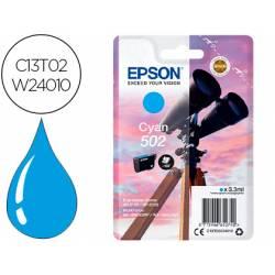 Cartucho Epson 502 XL cian C13T02W24010