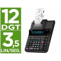 Calculadora Impresora Casio FR-620rce con 12 dígitos