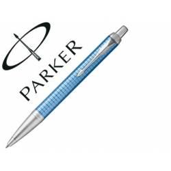 Bolígrafo Parker Im Core Metal Tinta color azul