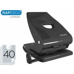 Taladrador Rapesco 825 Metal Negro Capacidad 40 hojas