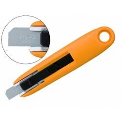 Cuter plastico Olfa mini cuchilla ancha