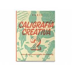Libro Caligrafia 2 Lettering Rubio 150 páginas 27x21 cm Tapa dura