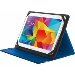 "Funda Trust Primo Tamaño folio Universal para tablets 10"" color Azul"