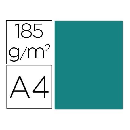 Cartulina Gvarro color verde menta A4 185 g/m2 Paquete 50