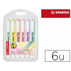 Rotulador Stabilo Swing Cool Pastel Fluorescente 6 unidades