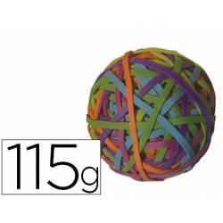 Gomillas elasticas marca Q-Connect 115 gr numero 5