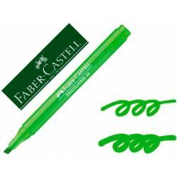 Rotulador Faber fluorescente Textliner 38 verde