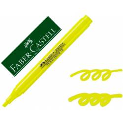 Rotulador Faber fluorescente Textliner 38 amarillo