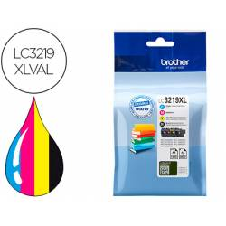 Ink-jet Brother LC3219XL pack 4 colores