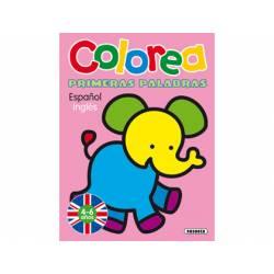 Cuaderno de Colorear Español-Ingles 12 páginas Susaeta