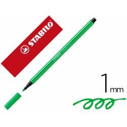 Rotulador Stabilo 68/033 1 mm Verde neón