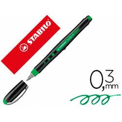 Rotulador Stabilo Roller Black 0,3mm color Verde