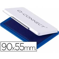 Tampon Q-Connect Nº 3 Azul 90x55mm
