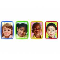 Puzzle niños del mundo a partir de 3 años 20 piezas marca Miniland