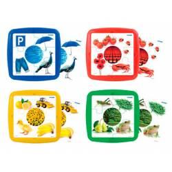 Puzzle Los colores a partir de 2 años 6 piezas marca Miniland