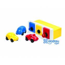 Juego para bebes a partir de 1 año Garaje marca Ambitoys