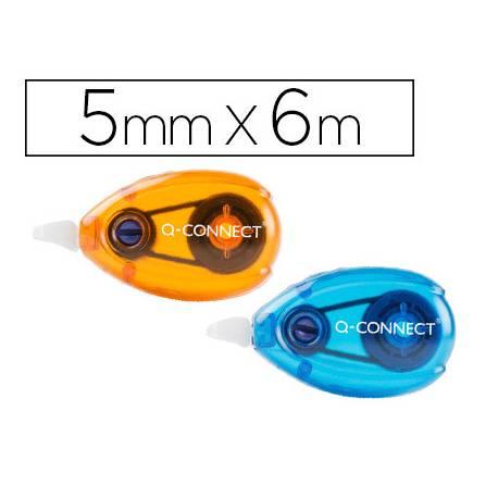 Cinta Correctora Q-Connect Blister 2 unidades