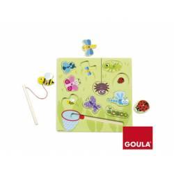 Puzzle Bichos Magneticos a partir de 1 año de 10 piezas marca Goula