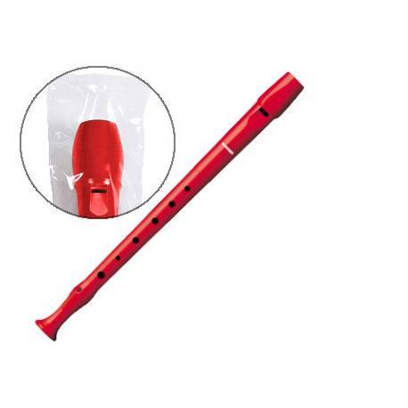 Flauta Hohner 9508 Plástico Rojo