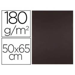 Cartulina Liderpapel Marron Escolar 50x65 cm 180 gr