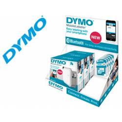 Expositor Rotuladora Dymo Mobilelabeler Bluetooth Para cinta D1 hasta 24mm 3u + 15 cintas D1