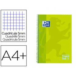 Cuaderno Oxford Ebook 1 A4+ Lima Tapa Extradura Cuadricula 5 mm