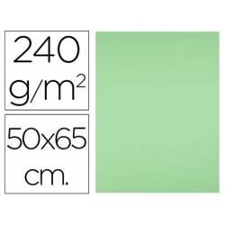 Cartulina Liderpapel Verde Pistacho 50x65 cm 240 gr Paquete 25 unidades