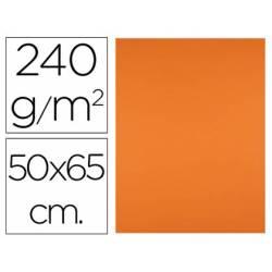 Cartulina Liderpapel Naranja 50x65 cm 240 gr Paquete 25 unidades